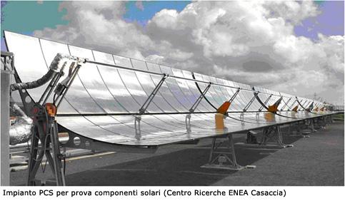 3 solare termodinamico accettabilit sociale - Centrale solare a specchi ...